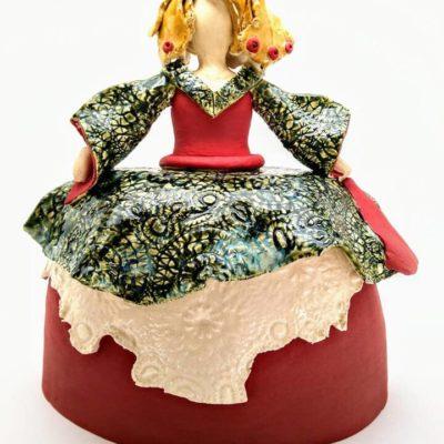 Menina ceramica decoracion