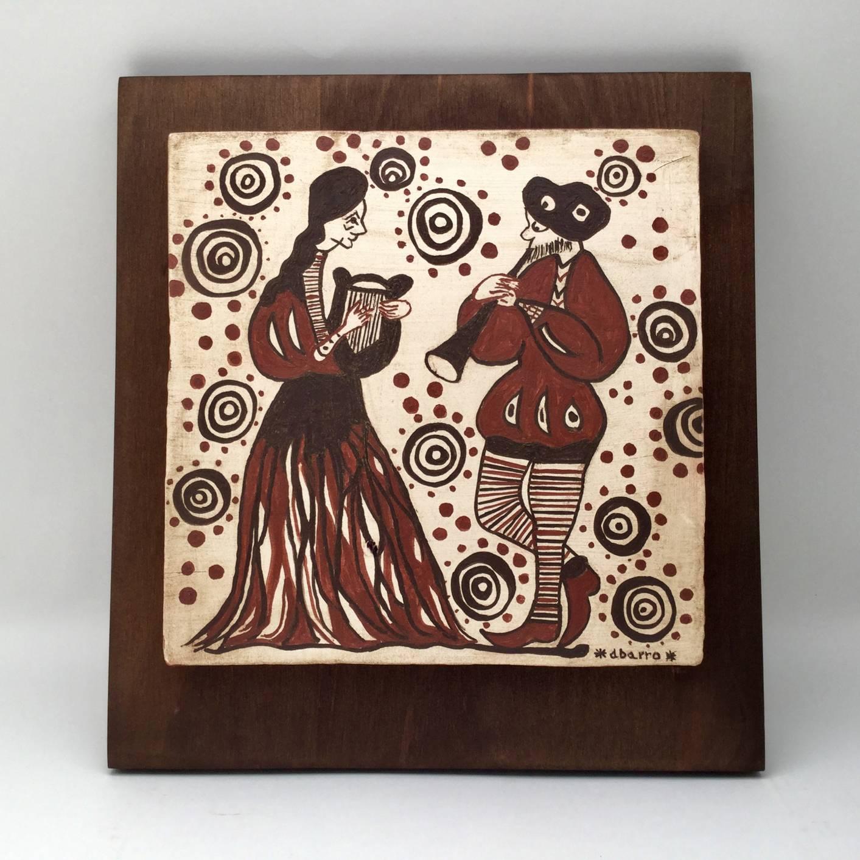 socarrat valenciano pareja musicos