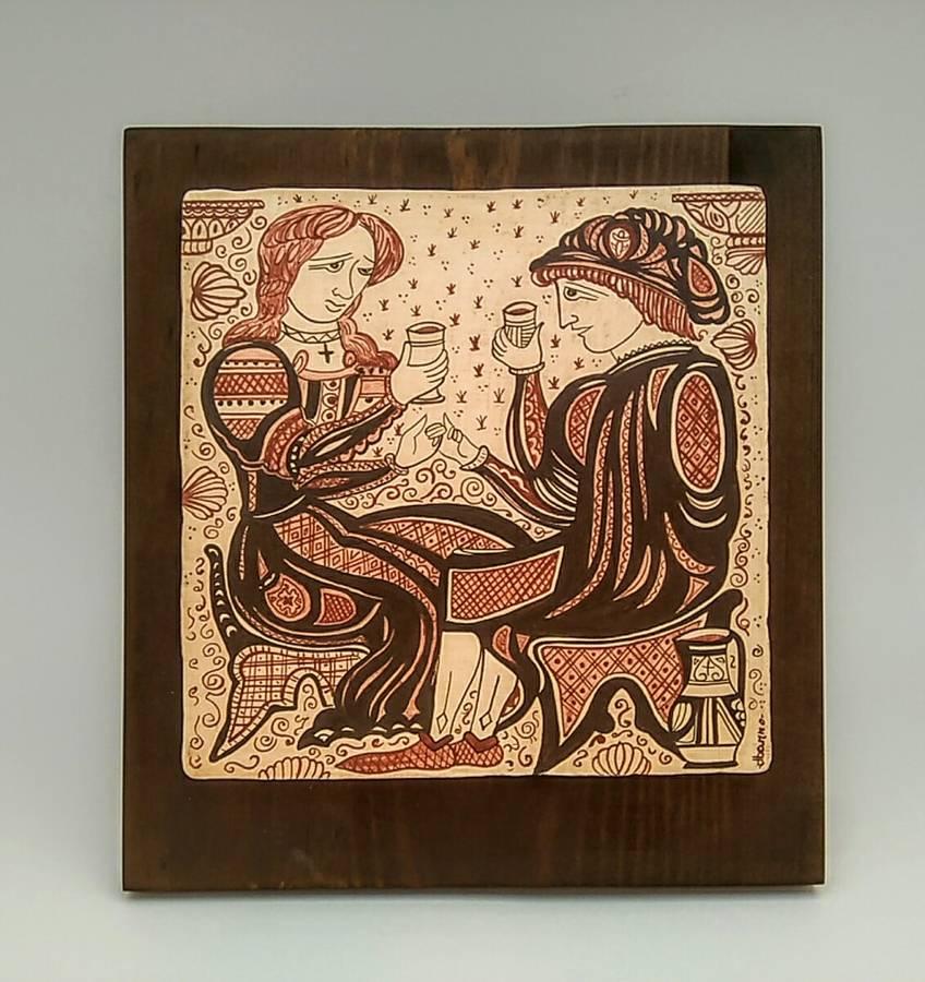 socarrat medieval pareja enamorados