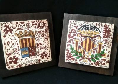 socarrats escudo Alcàsser y Valencia