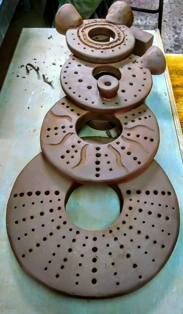 Escultura cerámica decoración