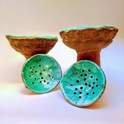 Sahumerios cerámica decoración