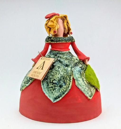 menina cerámica decoración