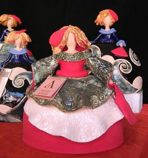 meninas ceramicas color